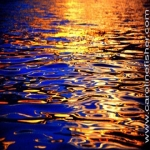 Golden Marine Ripples